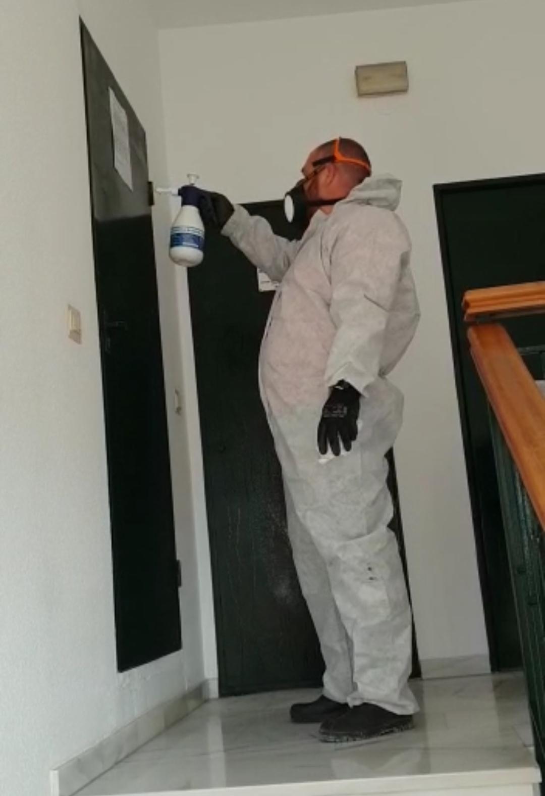servicio de desinfección de interiores en Almuñécar y Motril